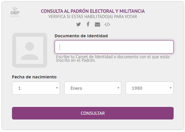Resultado de imagen de imagenes mesas electorales Bolivia