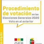 ¿Cómo votar en las elecciones de Bolivia en España 2020?