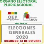 Recintos electorales en España – Elecciones Bolivia en España 2020
