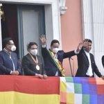 Posesión del presidente de Bolivia Luis Alberto Arce Catacora